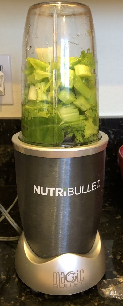 Nutribullet celery juice